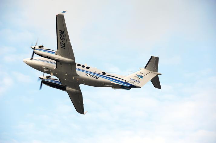 The Beechkraft King Air 350